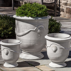 Campania International Cote D'Azur Planter - Set of 3