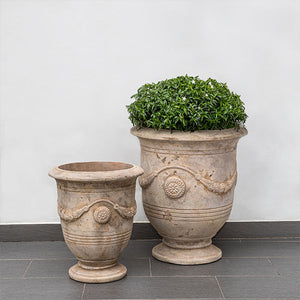 Campania International Anduze Urn, Set of 2