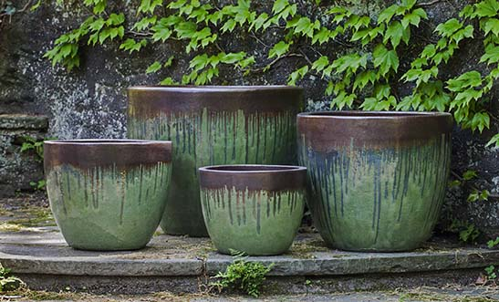 Campania International Marcel Planter - Set of 4