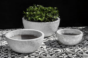 Campania International Mira Planter - Set of 3