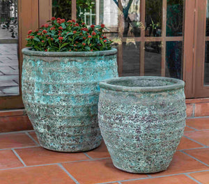 Campania International Knossos Planter - Set of 2