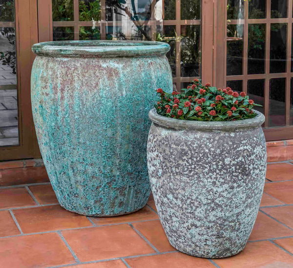 Campania International Paraiso Planter - Set of 2