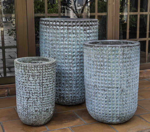 Campania International Escada Tall Planter - Set of 3