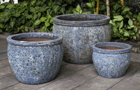 Campania International Saona Planter - Set of 3