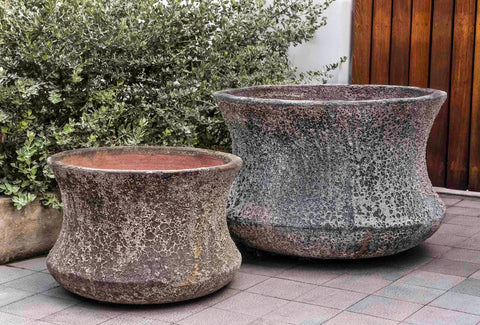 Campania International Thira Planter - Set of 2