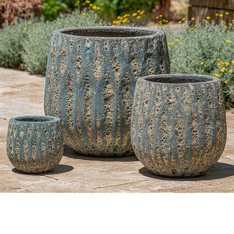 Campania International Lambrate Planter - Set of 3