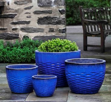Campania International Hyphen Planter - Set of 4