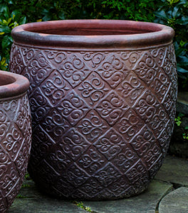 Campania International Indienne Planter - Set of 3
