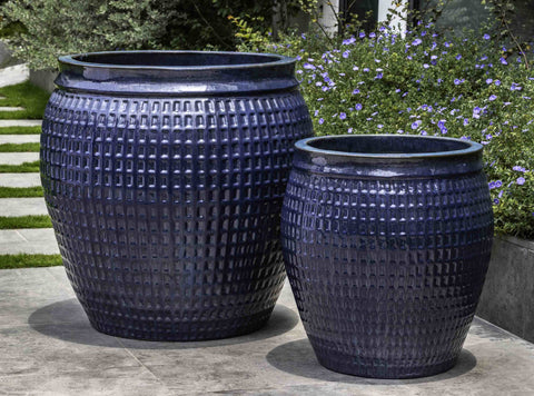 Campania International Ventana Planter - Set of 2