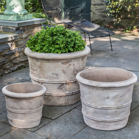 Campania International Classic Orangerie Planter - Set of 3