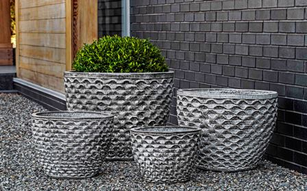 Campania International Honeycomb Planter - Set of 4