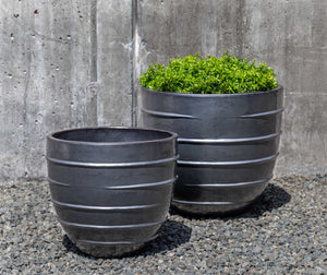 Campania International Logis Short Planter - Set of 2