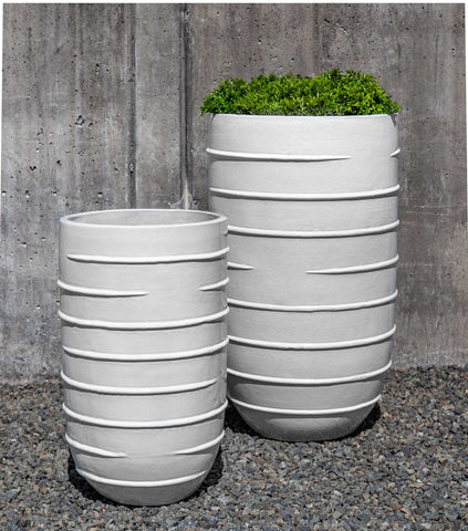 Campania International Logis Tall Planter - Set of 2