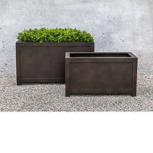 Campania International Oxford Rectangle Planter