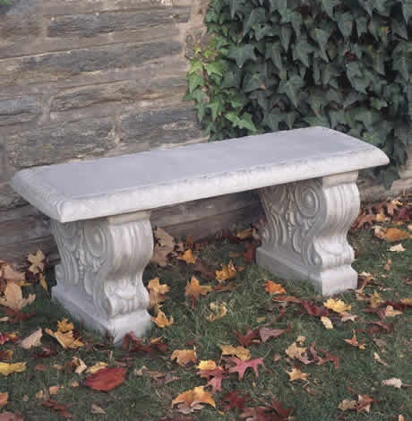 Campania International Traditional Straight Bench