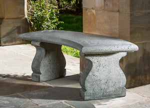 Campania International Provencal Curved Bench