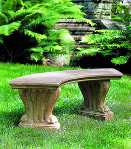 Campania International Curved Westchester Bench