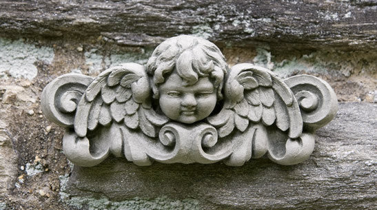 Campania International Williamsburg Cherub Plaque