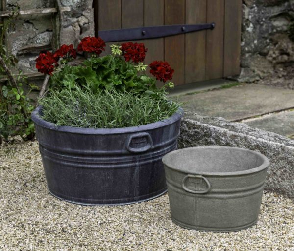 Campania International Farm Tub Planter, Small