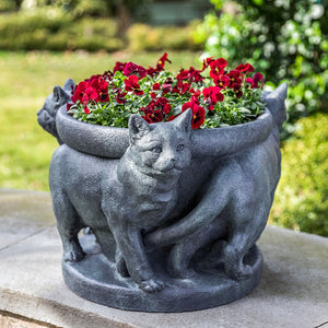 Campania International Three Cats Planter