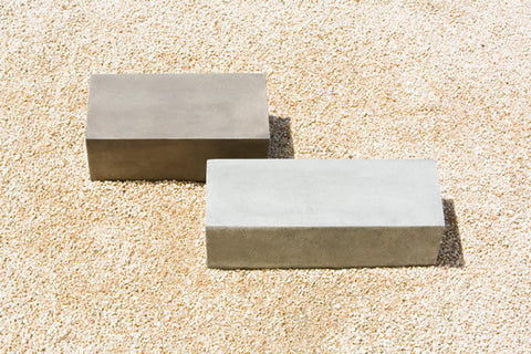 Campania International Low Rectangular Plinth