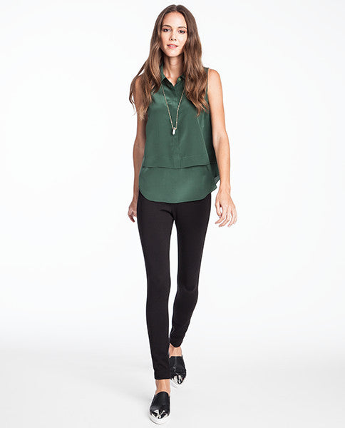 Elise Sleeveless Tank Silk