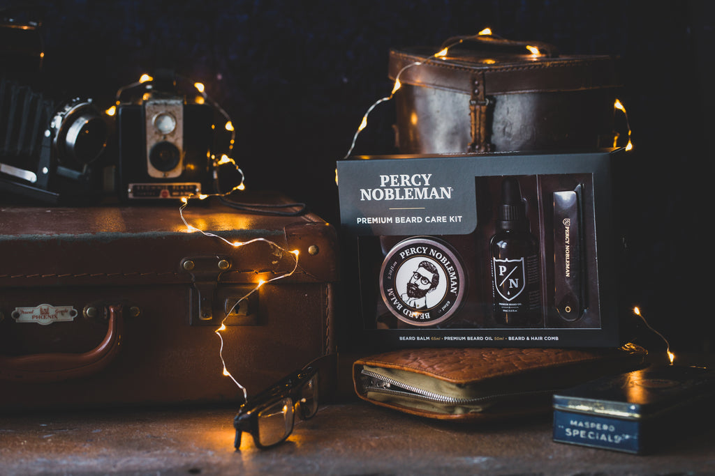 Percy's Christmas Giftset Product Guide! Shaving & Beard Grooming Kits for Men