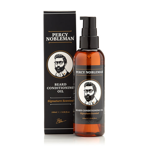 Percy Nobleman Signature Scented Beard Oil