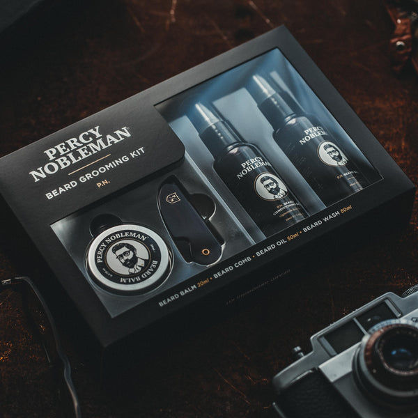 Percy Nobleman Beard Grooming Kit