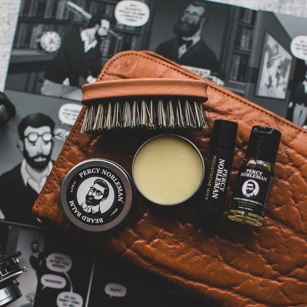 Percy Nobleman Beard Survival Kit