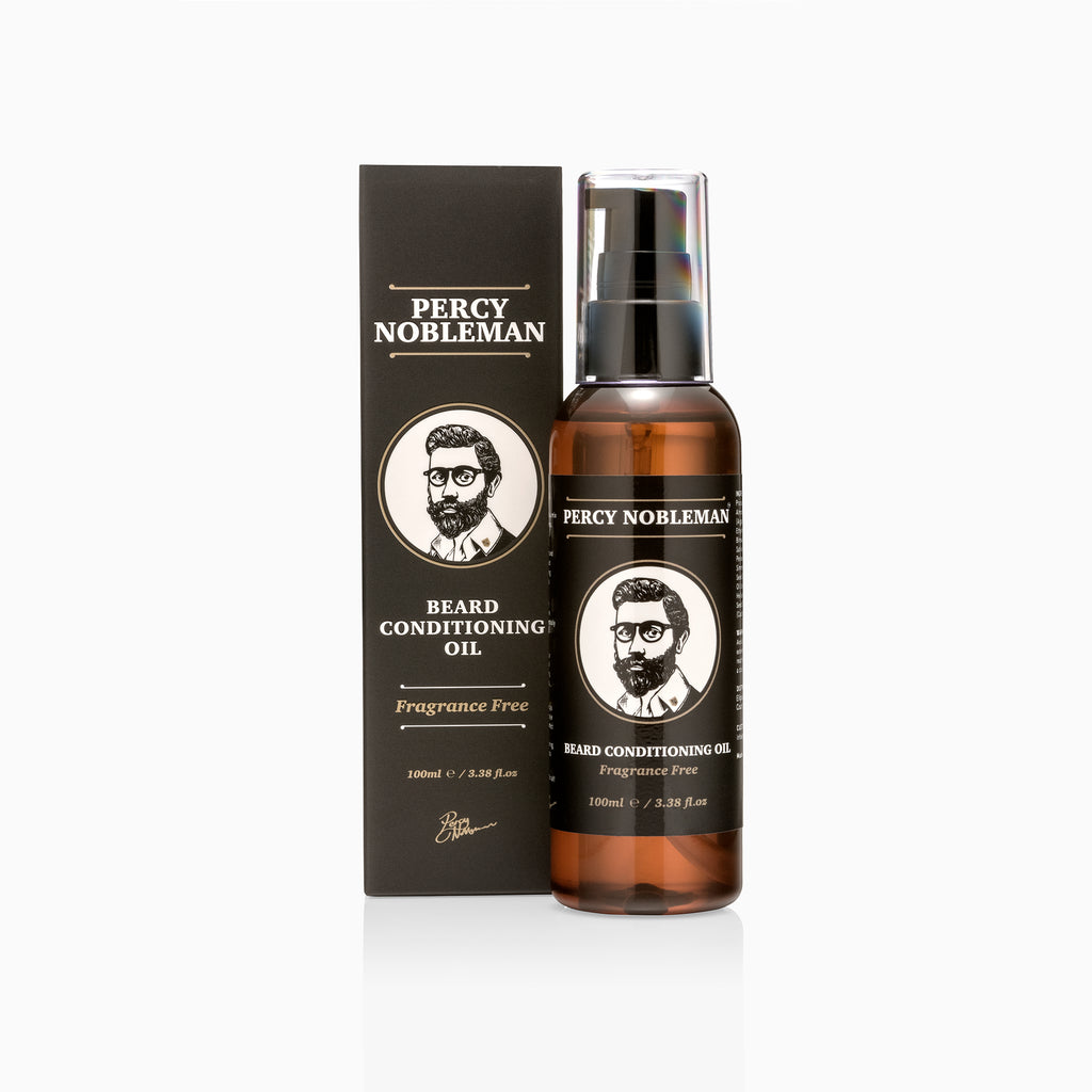 Percy Nobleman Beard Oil (Fragrance Free)