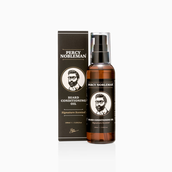 Percy Nobleman Signature Beard Oil (Scented) 100ml