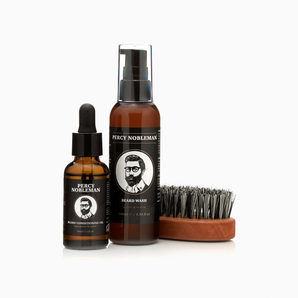 Percy's Beginners Beard Care Bundle