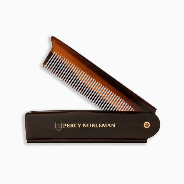 Percy Nobleman Folding Beard Comb