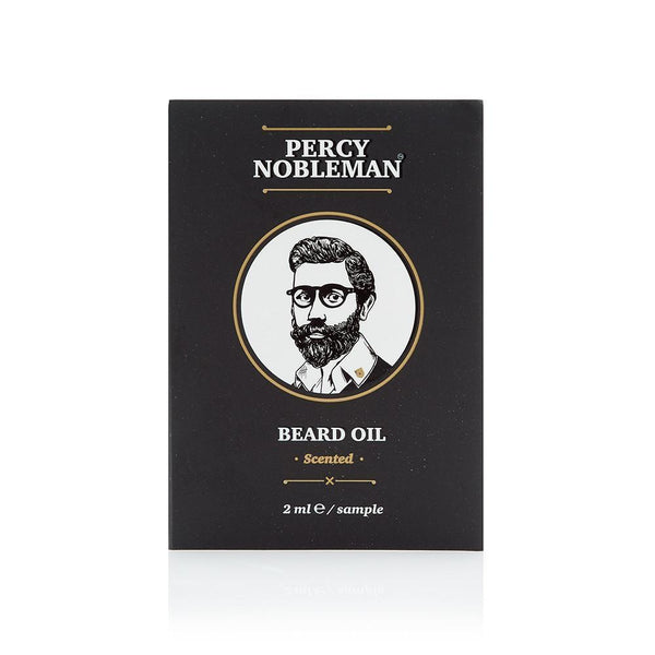 Scented Beard Oil Sample Percy Nobleman
