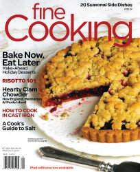 Fine Cooking, October 2012