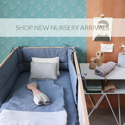 nursery room bedding new collection by camomile london