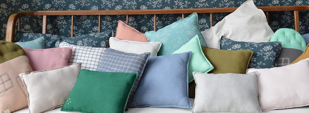 Camomile london scatter cushions and padded cushions