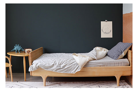 Minimal and contemporary unisex bedding by camomile london