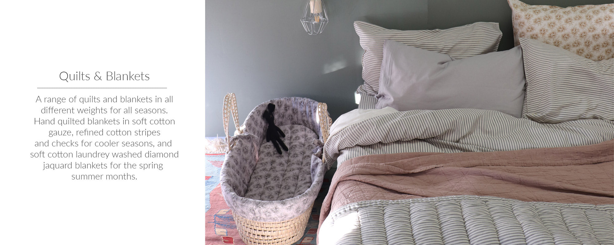 camomile london quilts and blankets