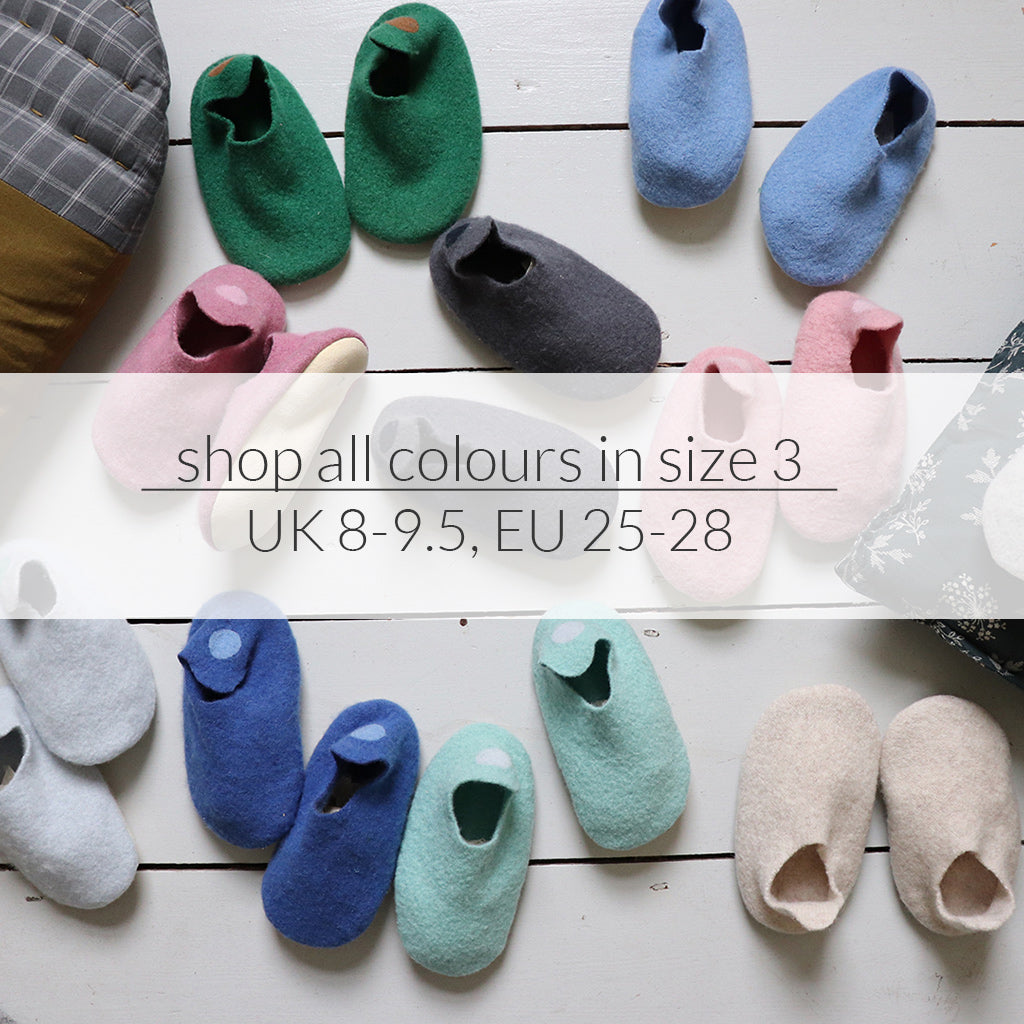 Size 3 Slippers, UK 8-9, EU 25-28