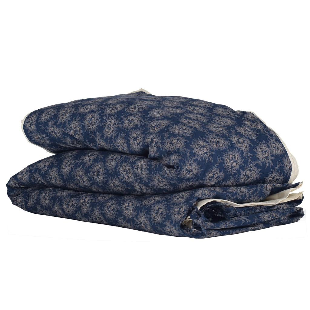 Spot Floral Indigo Duvet Cover - Adult sizes