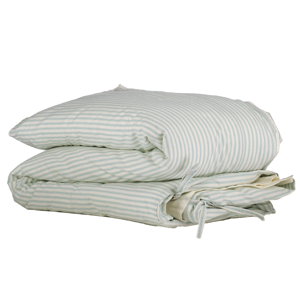 Marine Ticking Stripe Duvet Cover - Adult sizes