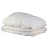 Chalk Pin Tuck Embroidered Duvet Cover Chalk - Adult sizes