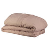 Pin Tuck Embroidered Duvet Cover - Clay pink