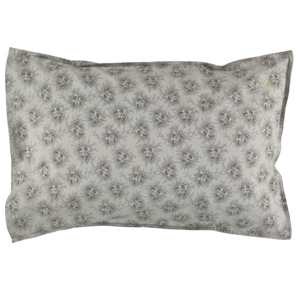 Spot Floral Chocolate Pillowcase