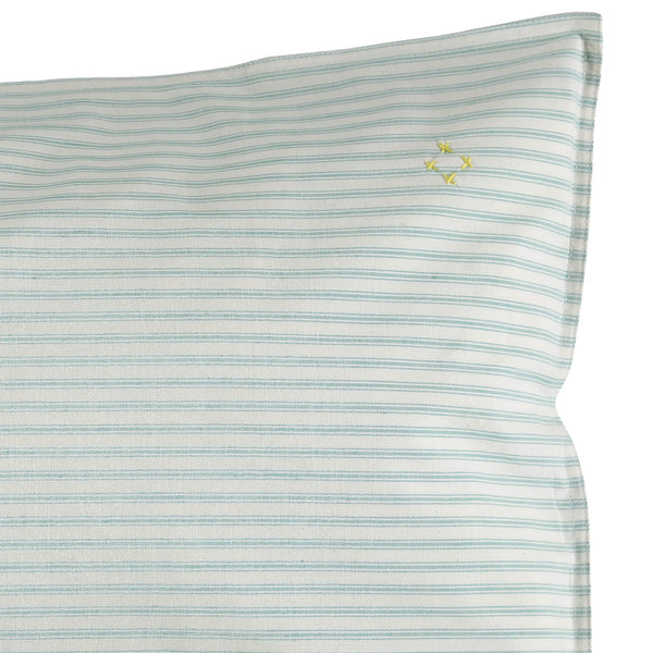Marine Ticking Stripe Pillowcase