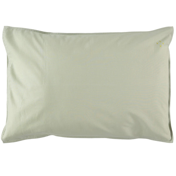 Organic Cotton Pillowcase - Mint