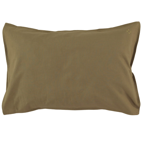Organic Pillowcase - Olive