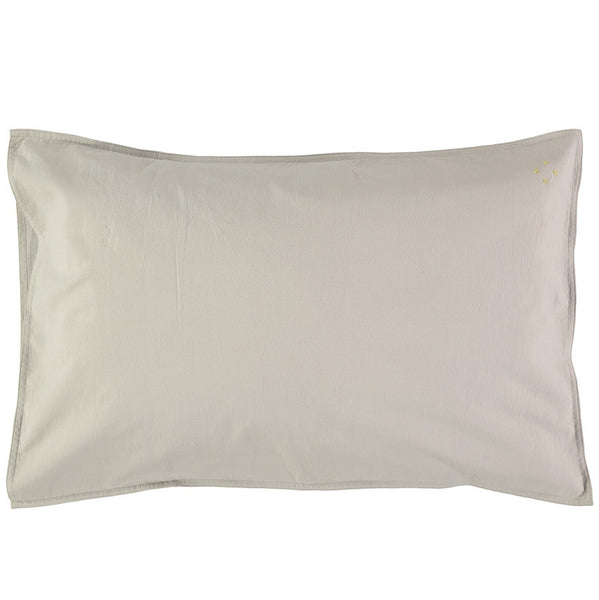 Solid Pillowcase - Soft Grey